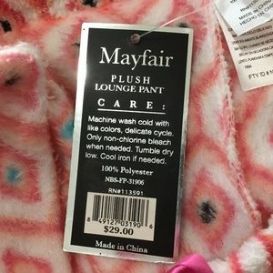 Intimates & Sleepwear - Mayfair plush Lounge Pajama Pant Women Size S